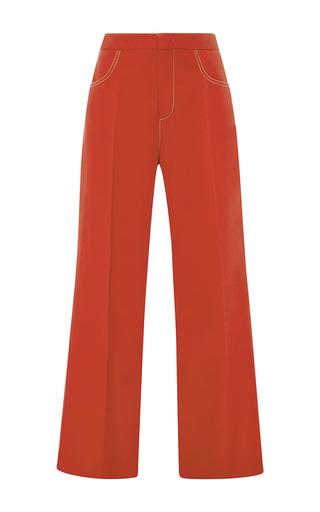 Medium no 21 red arati cropped pants