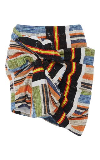 Medium no 21 stripe gaia twist mini skirt