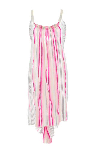 Medium lemlem stripe aden asymmetric slip dress