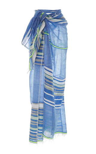 Medium lemlem stripe safia long wrap sarong