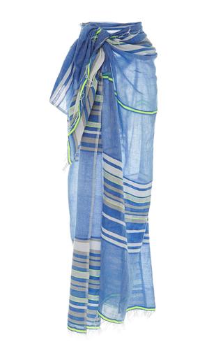Medium lemlem stripe safia long wrap sarong