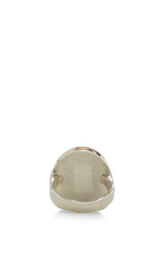 18 K Purple Opal Ring by JAMIE JOSEPH Now Available on Moda Operandi