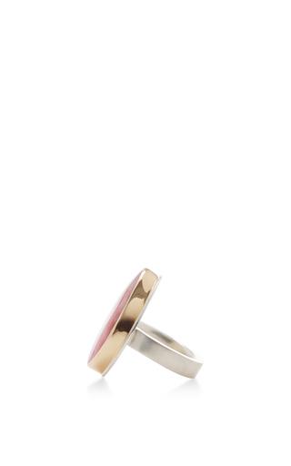 14 K Gold Pink Peruvian Opal Ring by JAMIE JOSEPH Now Available on Moda Operandi