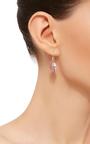 14 K Gold Rose De France Fans Earrings by JAMIE JOSEPH Now Available on Moda Operandi