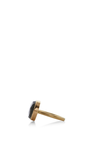 14 K Gold Labradorite Ring by JAMIE JOSEPH Now Available on Moda Operandi