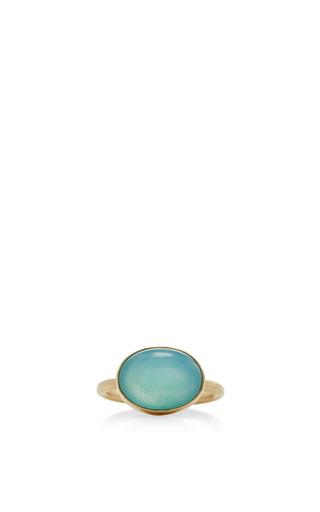 Medium jamie joseph turquoise 14k gold peruvian opal ring