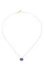Black Opal Pendant Necklace by JAMIE JOSEPH Now Available on Moda Operandi