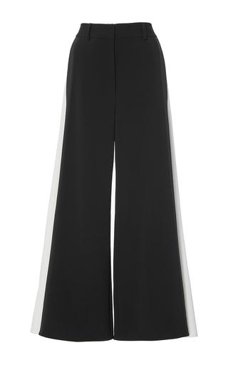 Medium peter pilotto black cady contrast culottes