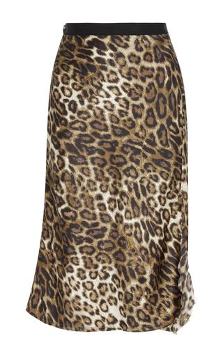 Medium nili lotan animal lillie leopard slip skirt