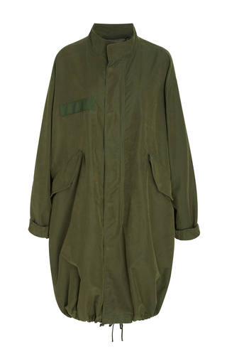 Medium nili lotan green west military parka