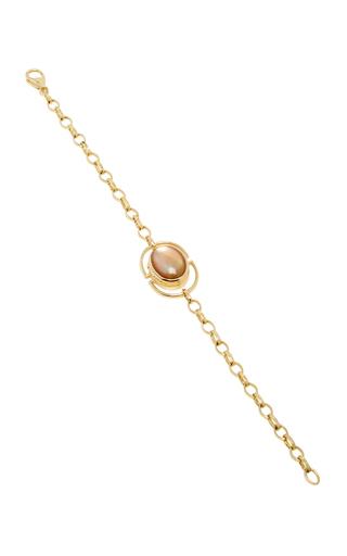 18 K Yellow Gold Locket Bracelet by MONICA RICH KOSANN Now Available on Moda Operandi