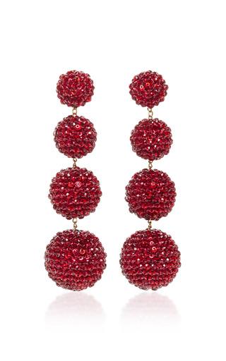 Medium rebecca de ravenel red les bonbons earrings 3