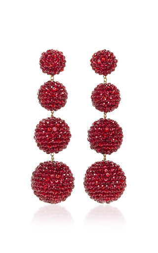 Medium rebecca de ravenel red les bonbons earrings 3