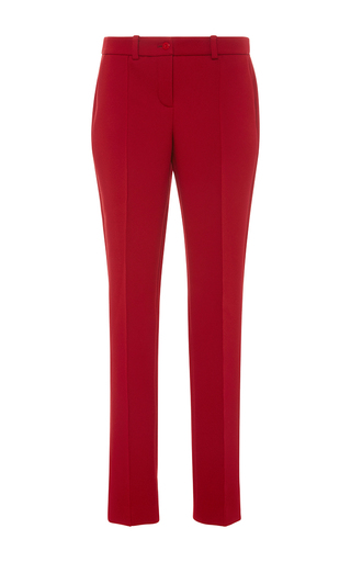 Medium paule ka red techno stretch trousers with pockets