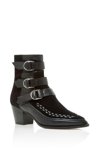 Medium isabel marant black dickey ankle boot