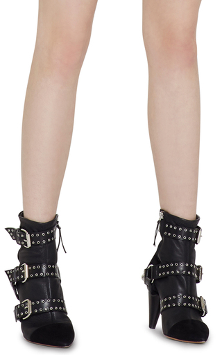 Lysett Eyelet Boot  by ISABEL MARANT Now Available on Moda Operandi