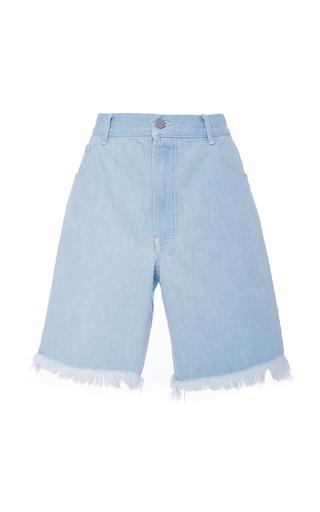Medium sandy liang light wash jinkoh long denim shorts