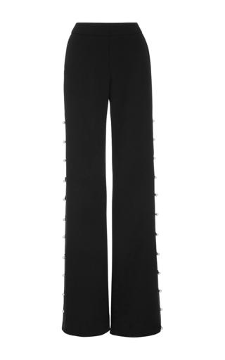 Medium prabal gurung black flared pants with buttons 3