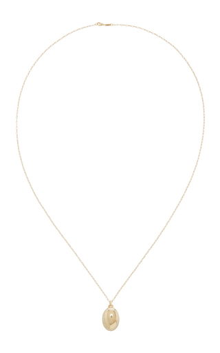 18 K Yellow Gold And Diamond Petite 4 Image Locket by MONICA RICH KOSANN Now Available on Moda Operandi