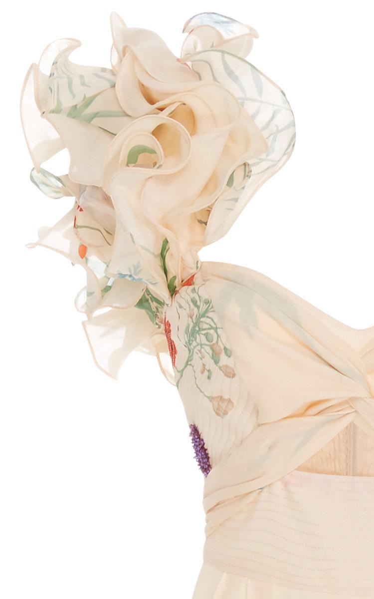 1ae1788c0a8 Johanna OrtizMarmara Silk Crepe One Shoulder Jumpsuit. CLOSE. Loading.  Loading. Loading