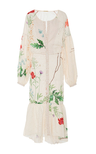 Medium johanna ortiz floral m o exclusive baru dress