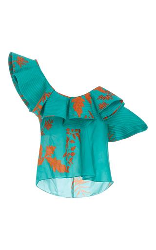 Medium johanna ortiz floral m o exclusive montigo bay one shoulder top