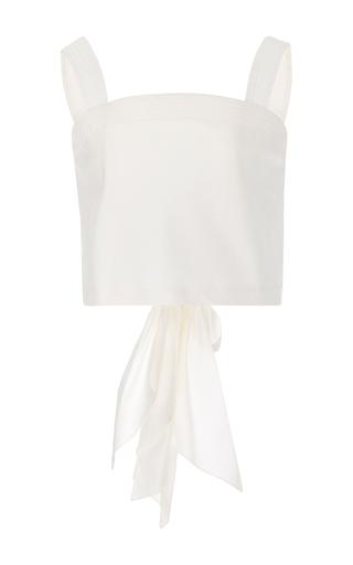 Medium johanna ortiz white m o exclusive santa cruz back bow top
