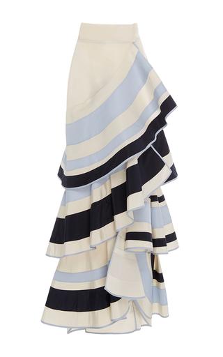Medium johanna ortiz stripe lombard street tiered ruffle skirt