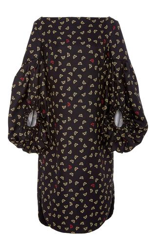 Medium hellessy print leana boat neck dress