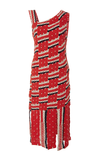 Medium tabula rasa multi anat knit fringe dress