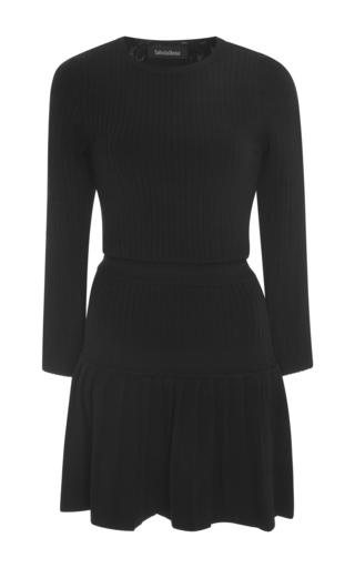 Medium tabula rasa black nyx pleated drop waist dress