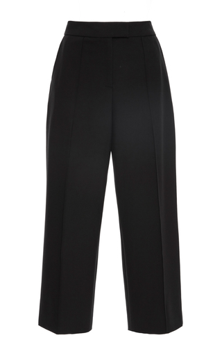 Medium zac posen black stretch cady pants