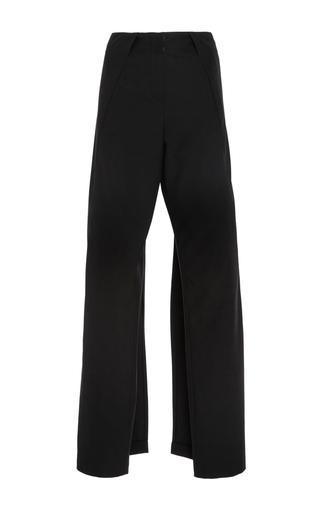 Medium zac posen black stretch cady pants 2