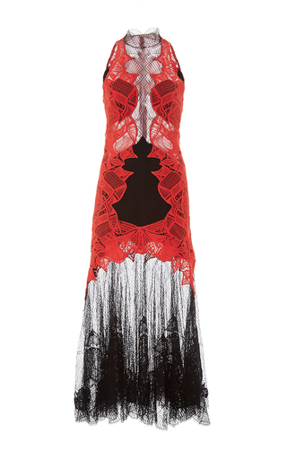 Medium jonathan simkhai multi dome lace corded applique dress