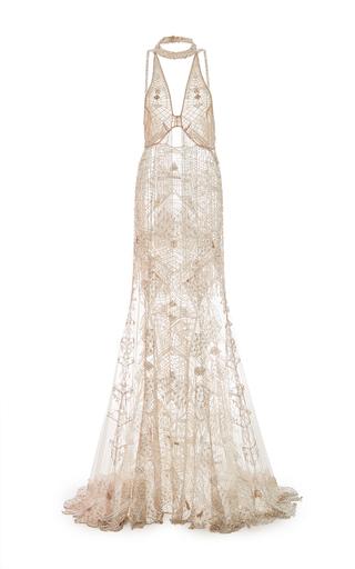 Beaded Fringe Gown By Jonathan Simkhai Moda Operandi
