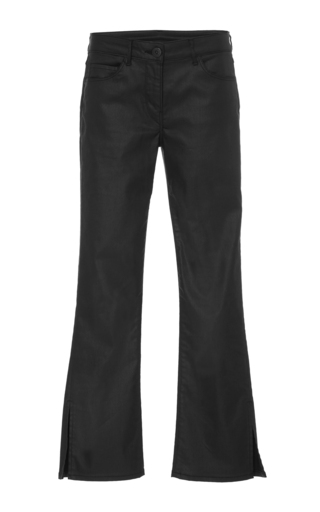 Medium 3x1 black w2 cropped flare pants