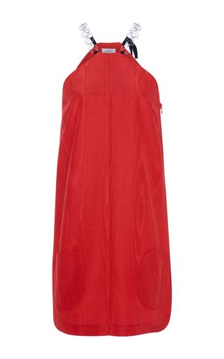 Medium isa arfen red twiggy mini dress