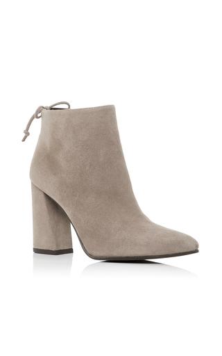 Medium stuart weitzman  2 light grey grandiose ankle boot