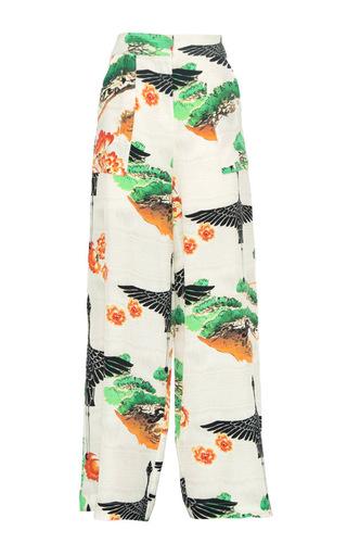 Medium lenny niemeyer white bonsai runway pants