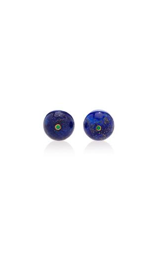 Medium begum khan blue lapis cufflinks