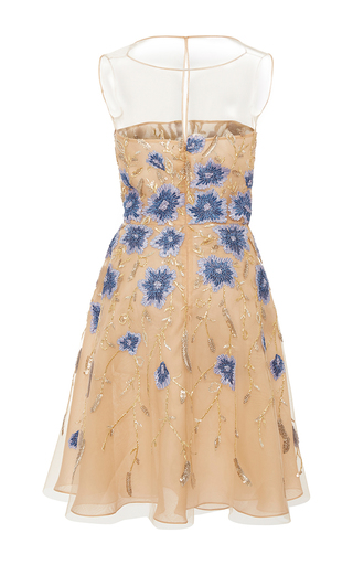 2be66fa32b0 Floral Applique Dress by Naeem Khan