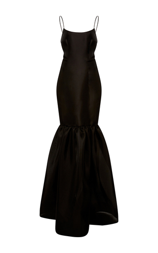 Medium naeem khan black gazaar tank gown