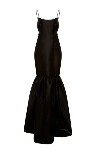 Medium naeem khan black gazaar tank gown