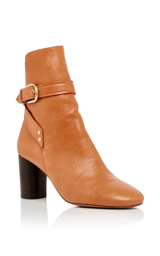 Medium isabel marant tan raley ankle boots