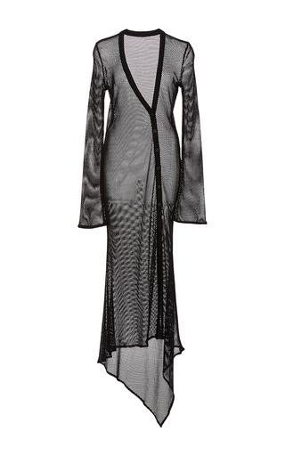 Medium alix black marseilles long sleeve cover up