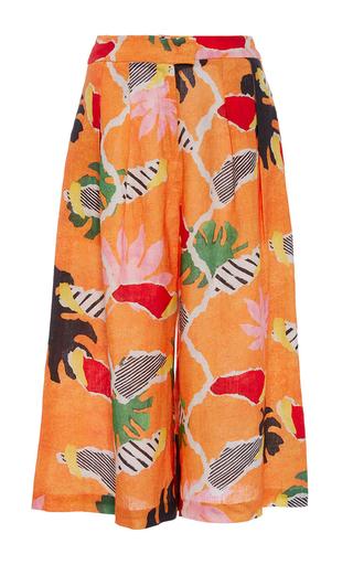 Medium isolda print pantacourt printed culottes