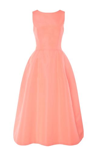 Medium carolina herrera pink sleeveless a line midi dress 2
