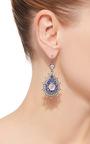 Blue Sapphire Drop Earrings by NAM CHO Now Available on Moda Operandi