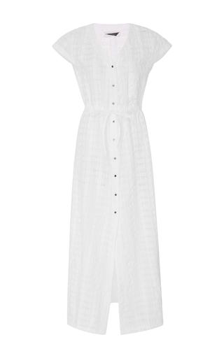 Medium prism white las palmas long shirt dress