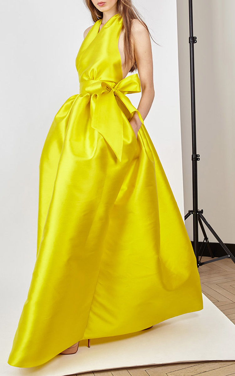 Evening Cache Coeur Full Gown by Alexis Mabille | Moda Operandi